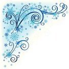 Corner,Snowflake,Swirl,Winter,Blue,Spiral,Pattern,Ice,Clip Art,Christmas,Floral Pattern,December,Ornate,Cold - Termperature,Fun,Branch,Plant,Nature,Ilustration,Christmas Decoration,Frozen,Design Element,Decoration,No People,Christmas Ornament,Abstract,Vector,Season,Natural Pattern,Celebration,Curve,Copy Space,Design Objects,Snowing,Design,Isolated On White,Curled Up