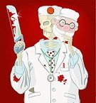 Doctor,Dead,Human Skeleton,Surgery,Hand Saw,Dead Person,Death,Blood,Assistant,Mask,Pathologist,Painted Image,Spooky,Ilustration,Holidays And Celebrations,Paintings,Vector,Halloween,Illustrations And Vector Art,Anatomist,Human Bone,Healthcare And Medicine,Red,Blob,White,Horror,Standing,Pumpkin,Coat,Personnel,Recovery,Shock,Medicine And Science,Vector Cartoons,Autumn,Human Skull,Spotted,Halloween
