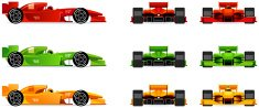 Formula One Racing,Racecar,Formula,Car,Front View,Symbol,Sports Race,Back - Furniture Part,Sports Car,Sports Team,Cartoon,Competition,Side View,Sport,Speed,Vector,Tire,Wheel,Isolated,Red,Land Vehicle,Looking At View,Formula Car,Ilustration,Championship,Winning,Success,Engine,sportcar,Driver,Transportation,Drawing - Art Product,Design,Machinery