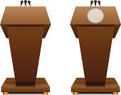 Podium,Lectern,Catwalk - Stage,President,Conference,Conference,Microphone,Speech,Discussion,Presentation,Seminar,Illustrations And Vector Art,Concepts And Ideas,Sermon,Talking,Conference Call,Business,Business