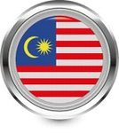 Flag,Interface Icons,Malaysia,Travel Locations,Shiny,Badge,Vector,Computer Icon