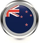 Flag,New Zealand,Computer Icon,Badge,Travel Locations,Interface Icons,Shiny,Vector