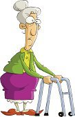 Senior Women,Senior Adult,Cartoon,Fun,Old,Vector,Women,People,Aging Process,Ancient,Construction Frame,Isolated,Cute,One Person,Isolated On White,Vector Cartoons,Characters,Drawing - Activity,Drawing - Art Product,People,Objects with Clipping Paths,Adult,Ilustration,Illustrations And Vector Art,Gray Hair,Female,Pencil Drawing,Isolated Objects