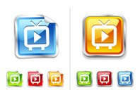 Television Broadcasting,Symbol,Video,Television Set,Playful,Playing,Movie,Interface Icons,Computer Icon,Film,Internet,Record,Sign,Concepts,High Definition Video Format,The Media,Information Medium,Newspaper,Pointer Stick,Design,Vector Icons,Ideas,Modern,Inspiration,Orange Color,High-definition Television,Set,Digitally Generated Image,Digital Display,Service,Shiny,Blue,The Way Forward,Emotion,Label,Entertainment,Antenna - Aerial,Illustrations And Vector Art,Green Color,Red,Glass - Material,Vector,Part Of,Broadcasting