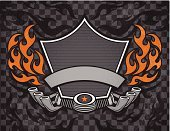 Motorcycle,Biker,Motorcycle Racing,Engine,Sign,Car,Exhaust Pipe,Flame,Grunge,Sports Race,Electric Motor,Motorsport,Shield,Cool,Insignia,Vehicle Part,Heat - Temperature,Fire - Natural Phenomenon,Metal,Design,Textured Effect,Pattern,Part Of Vehicle,Ilustration,Symbol,Banner,Art,Black Color,Igniting,Empty,Gray,Star - Space,Land Vehicle,Inferno,Lifestyle,Orange Color,Ornate,Vector,Clip Art,Multi Colored,Transportation,Checked,Illustrations And Vector Art,No People,Burning,Copy Space,Motorcycle Parts