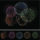 Firework Display,Pyrotechnics,New Year's Eve,2012,Vector,Backgrounds,New Year's Day,Birthday,Party - Social Event,Celebration,Exploding,Year,Fire - Natural Phenomenon,2011,Fourth of July,Color Image,Night,Holiday,Bang,Sky,Fun,Event,Black Color,Bright,New Year,Ilustration,Light - Natural Phenomenon,Multi Colored,Vibrant Color,Digitally Generated Image