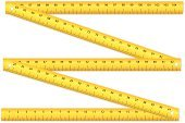 Folding Ruler,Ruler,Vector,Centimeter,Wood - Material,Construction Industry,Measuring,Isolated,Illustrations And Vector Art,Millimeter,Objects/Equipment,Isolated Objects,Ilustration,Vector Icons,Scale,Work Tool,Instrument of Measurement,Equipment
