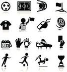 Soccer,Symbol,Soccer Shoe,Icon Set,Whistle,Sport,Goal,Soccer Uniform,Football,Net - Sports Equipment,Challenge,Soccer Field,Yellow Card,T-Shirt,Silhouette,Kicking,Sports Glove,Calendar,Vector,Red Card,Flag,Shoe,Judge - Entertainment,Corner Marking,Tossing,Human Hand,Coin,Championship,Winning,Ball,Ilustration,Exercising,Playing,Award,Black Color,Jumping,Vector Icons,Leisure Games,Corner,Competition,Sports And Fitness,Illustrations And Vector Art,Isolated,Set,Collection,Loss
