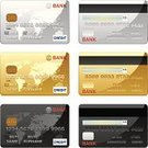 Credit Card,Symbol,Icon Set,Computer Icon,Paying,E-commerce,Vector,World Map,Gold Colored,Computer Graphic,Black Color,Silver Colored,Ilustration,Design Element,Shiny,Consumerism,Clip Art