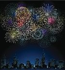 Firework Display,New Year's Eve,Pyrotechnics,Cityscape,Backgrounds,City,Urban Skyline,Night,Celebration,Vector,Fourth of July,Exploding,Multi Colored,Illuminated,Holiday,Ilustration,Residential District,Vibrant Color,Fun,Computer Graphic,Skyscraper,Design,Textured,Grunge,Textured Effect,forth of july,Illustrations And Vector Art,Copy Space,Vector Backgrounds,Holidays And Celebrations,Holiday Backgrounds,Colors