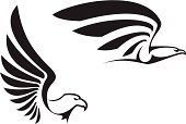 Eagle - Bird,Wing,Falcon - Bird,Sign,Hawk - Bird,Bird,Symbol,Feather,Vector,Flying,Mascot,Silhouette,Abstract,USA,Courage,Freedom,Black Color,American Culture,Tattoo,Animal,Animal Head,Ilustration,Design,Outline,Insignia,Majestic,Computer Graphic,Isolated,Power,National Landmark,Protection,Royalty,Pattern,Cultures,Part Of,Claw,Design Element,Label,Beak,Coat,Independence,Shape,Decoration