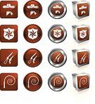 Whip,Symbol,Cowboy,Computer Icon,Gun,Sheriff,Cowboy Hat,Icon Set,Badge,Police Force,Law,Gunslinger,Shotgun,History,Brown,Curve,Three-dimensional Shape,American Culture,Bandana,Square,Contrasts,Brightly Lit,Thief,Variation,Bullwhip,Raccoon,Wild West,Metal,Reflection,Set,Weapon,Label,Handgun,Circle,Group of Objects,Square Shape,Chrome,Vibrant Color,Collection,Digitally Generated Image,Vector,Bright,Push Button,Ilustration,Shadow,Interface Icons
