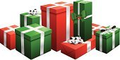 Gift,Christmas Present,Gift Box,Christmas,Stack,Box - Container,Isolated,Vector,Shopping,Package,Green Color,Bow,Bow,Birthday,Ribbon,Ilustration,Surprise,Red,Christmas,Holidays And Celebrations,Candid,Illustrations And Vector Art