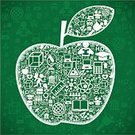 Education,Science,Research,Child,Learning,Symbol,Apple - Fruit,Teaching,Pattern,School Children,Sign,Book,People,Wisdom,Schoolboy,Black Color,Page,Textbook,Textured Effect,Design,Diary,Single Object,Discovery,Information Medium,Design Element,Backdrop,Studying,Ilustration,Vector,Set,Preschooler,Imagination,Education,Ideas,Vector Cartoons,Industry,Concepts,Colors,Medicine And Science,Science Backgrounds,Shape,Illustrations And Vector Art