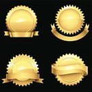 Seal - Animal,Gold,Gold Colored,Award,Seal - Stamp,Medal,Badge,Banner,Security,Insignia,Certificate,Elegance,Coat Of Arms,Label,Sale,Symbol,Circle,Vector,Metal,Shiny,Curve,Design,Black Color,Star Shape,Metallic,Ilustration,Isolated,Transparent,Reflection,Design Element,Retail,Glowing,Copy Space,Vector Ornaments,Vector Icons,Illustrations And Vector Art,Bright,Isolated Objects