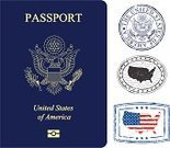 Passport,USA,Rubber Stamp,Postage Stamp,Great Seal,Travel,Journey,Mail,Vacations,Tourist,Document,People Traveling,Tourism,Identity,Map Of Usa,Text,Cartography,Western Script,Government