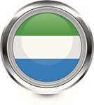Flag,Sierra Leone,Badge,Travel Locations,Interface Icons,Vector,Computer Icon,Shiny
