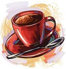 Coffee - Drink,Coffee Bean,Cappuccino,Spoon,Art,Sketch,Painterly Effect,Paintings,Drink,Multi Colored,Vector,Ilustration,Heat - Temperature,Refreshment,Painted Image,Drinks,Brush Stroke,Drawing - Art Product,Mug,Vector Backgrounds,Illustrations And Vector Art,Food And Drink,Grunge,hand drawn