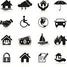 Symbol,House,Computer Icon,Icon Set,Insurance,Car,Handshake,Finance,Business,Nautical Vessel,Vector,Black Color,Security,Family,Currency,Silhouette,Black And White,Flood,Umbrella,Dollar Sign,Human Hand,Ilustration,Fire - Natural Phenomenon,Design,Globe - Man Made Object,Lock,Dollar,Interface Icons,Wheelchair,Thunderstorm,Clip Art,Pen,Currency Symbol,Shadow,Lightning