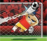 Soccer,Goalie,Goal,Stadium,Soccer Ball,Bullet,Flying,Ball,Vector,Facial Expression,Sport,Shooting at Goal,Playing,Ilustration,Stretching,Audience,Protection,Action,Skill,Stop,Night,Speed,Sweat,Awe,Passion,Control,Expertise,Jumping,Reaching,Strength,Aggression,Cañonazo,Concepts And Ideas,Shielding,Teamwork,Competition,Actions,Illustrations And Vector Art,Effort,Competitive Sport,Sports Uniform