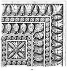 Antique,Geometric Shape,Woodcut,Old-fashioned,Swirl,Decoration,Engraved Image,Design,Old,Assyrian,Isolated On White,Retro Revival,Ornate,Arts Symbols,Art,Architecture And Buildings,Print,Ilustration,Floral Pattern,The Past,Design Element,Isolated,Arts And Entertainment,Architectural Detail,Pattern,Ancient,Art And Craft,Styles,Shape,Condition,Arts Backgrounds