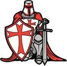 Knight,The Crusades,Shield,Cross,Vector,Christianity,Ilustration,Vector Cartoons,People,Illustrations And Vector Art,Sword