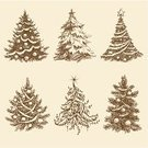 Christmas,Drawing - Art Product,Pine Tree,Tree,Branch,Silhouette,Backgrounds,Christmas Ornament,Symbol,Pattern,Abstract,Vector,Holiday,Curve,Design,Classic,Year,Ornate,Nature,Christmas,Celebration,Cultures,Image,Computer Graphic,Season,Vector Ornaments,Curled Up,Holiday Symbols,Shape,Ilustration,Decoration,Illustrations And Vector Art,Set,Holidays And Celebrations,December,Backdrop