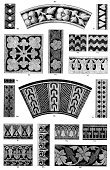 Decoration,Floral Pattern,Victorian Style,Scalloped,Ruffled,Pattern,Antique,Retro Revival,Foliate Pattern,Houndstooth,19th Century Style,Chevron,Halftone Pattern,Illustrations And Vector Art,Old-fashioned,Design Element,Isolated,Striped,Engraved Image,Heart Shape,Styles,Tattersall,Swirl,Design,Old,Scroll Shape,Isolated On White,Arts Symbols,Arts Abstract,Shape,Art And Craft,Image Created 19th Century,Ilustration,Geometric Shape,Ornate,Art,Arts And Entertainment