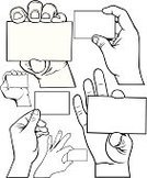 Human Hand,Holding,Business Card,Showing,Sign,Teaching,Business,Blank,White,Backgrounds,Gesturing,Ideas,Greeting,blank card,People,Concepts And Ideas,Information Medium,Business,Illustrations And Vector Art,Advertisement,Vector,Abstract,Copy Space,Message