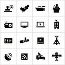 Symbol,Journalism,Computer Icon,Interview,Journalist,Newscaster,Television Broadcasting,Icon Set,The Media,Van - Vehicle,Speech,Television Set,rss,Camera - Photographic Equipment,Internet,Satellite,Broadcasting,Satellite Dish,Information Medium,Communication,Radio,Global Communications,Microphone,Sound Mixer,Built Structure,Black Color,Laptop,Communications Tower,News Camera,Computer,News Van