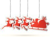 Christmas,Santa Claus,Sleigh,Reindeer,Sale,Label,Christmas Decoration,Symbol,Icon Set,Design Element,Luggage Tag,Vector,Red,Design,Paper,Christmas Ornament,Price,Promotion,Bag,Retail,Shadow,Blank,Christmas Tag,Shopping Tag,Set,Holiday,Ilustration