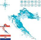 Croatia,Map,Cartography,Arrow,Sign,People,Industrial Ship,Symbol,Passenger Ship,Car,Airplane,Flag,Sailing Ship,Ilustration,Vector,International Border,counties,Set,Compass Rose,Vector Icons,Republic Of Croatia,Isolated Objects,regions,Train,Travel,Eastern Europe,Zagreb,Capital Cities,City,Europe,Land,nation,Isolated-Background Objects,Isolated,Balkans,Blue,Interface Icons,Illustrations And Vector Art,Computer Icon,Journey,White,Anchor