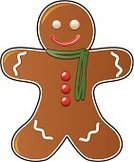 Gingerbread Cookie,Icing,Candy,Holiday,Food,Vector,Baked,Cookie,Holidays And Celebrations,Cultures,Isolated,White,Shape,Baking,Red,Green Color,Brown,Sweet Food,Cartoon,Scarf,Dessert,Smiling,Ilustration,Cheerful,Holiday Symbols,Studio Isolated,Food And Drink,Snack