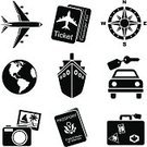 Symbol,Compass,Computer Icon,Travel,Suitcase,Airplane,People Traveling,Cruise Ship,Icon Set,Globe - Man Made Object,Planet - Space,Tourism,Silhouette,Journey,Passport,Black And White,Ticket,Vector,Black Color,Vacations,Ilustration,Stencil,Clip Art,Camera - Photographic Equipment,Duty Free,Set,Tourism Icons,Travel Icons,Vector Icons,Transportation,Travel Locations,Air Travel,Illustrations And Vector Art