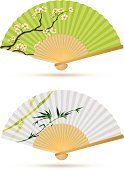 Fan,Asia,East Asian Culture,Japanese Culture,Chinese Culture,Part Of,Design Element,Japan,Symbol,Bamboo,Cherry,Sakura,Tree,Buddhism,Personal Accessory,Blossom,Art,Flower,Paper,Tranquil Scene,Leaf,Vector,Cultures,Zen-like,Concepts And Ideas,East,Design,Nature,Travel Locations,Ilustration,Beautiful,Paintings,Elegance,Isolated Objects,Branch,Ethnic,Computer Graphic,Style,Decorating,Old-fashioned,Fashion,Green Color,Open,Decoration