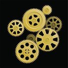 Gear,Bicycle Gear,Gold Colored,Gold,Clockworks,Vector,Order,Machine Part,Connection,Teamwork,Wind-up Toy,Symbol,Machinery,Backgrounds,Black Color,Business Symbols/Metaphors,Design,Decor,Decoration,Creativity,Technology,Vector Backgrounds,Yellow,Pattern,Shape,Technology Symbols/Metaphors,Abstract,Design Element,Business,Illustrations And Vector Art,Ilustration