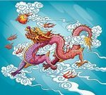 Dragon,China - East Asia,Chinese Ethnicity,Chinese Culture,Cloud - Sky,Cartoon,Asia,Asian Ethnicity,East Asian Culture,Fantasy,Fireball,Astrology Sign,Spirituality,Ilustration,Chinese New Year,Year,Fire - Natural Phenomenon,Sphere,Animals And Pets,Painted Image,folktale,Vector,Red,Mythology,Animal Backgrounds,Sky,Holidays And Celebrations,Paintings,Vector Cartoons,Religion,Flying,Cultures,Illustrations And Vector Art,Prosperity