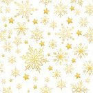 Christmas,Star Shape,Gold Colored,Snowflake,Backgrounds,Seamless,Pattern,Wallpaper,Holiday,Wallpaper Pattern,Design,Snow,Vector,Snowing,Abstract,Cold - Termperature,Decoration,White,Winter,Sketch,Ice,Season,Symbol