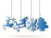 Christmas Tree,Paper,Christmas,Holiday,Blue,Christmas Decoration,Label,Sale,Luggage Tag,Vector,Snowflake,Christmas Ornament,Sleigh,Blank,Icon Set,Design Element,Shadow,Promotion,Shopping Tag,Ilustration,Retail,Reindeer,Set,Christmas Tag,Price,Design,Symbol