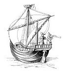 Nautical Vessel,Old,Sailing Ship,Woodcut,Brigantine,Galleon,Caravel,Sail,Tall Ship,Sailboat,Galley,Gear,Print,Armed Forces,Ilustration,Recreational Boat,Vessel Part,Styles,Engraved Image,Transportation,Antique,Medieval,Navy,Middle Ages,Historical Ship,Art,History,The Past,People,Old-fashioned,Illustrations And Vector Art,Sailing,Mode of Transport