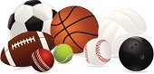 Sport,Ball,Sphere,Backgrounds,Football,Basketball,Baseballs,Volleyball,Soccer,Soccer Ball,Computer Graphic,White,Cricket Ball,Tennis Ball,Concepts,Bowling Ball,Ilustration,Colors,Leather,No People,Vector Backgrounds,Vector,Illustrations And Vector Art,Black Color,Brown,Isolated,Red,Green Color,Named Play,Image