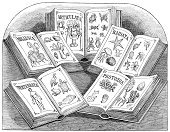 Book,Engraving,Engraved Image,Ilustration,Victorian Style,Etching,Open,Old-fashioned,University,School Building,Retro Revival,Old,Drawing - Activity,Pencil Drawing,Science,High Contrast,Antique,Education,Biology,Zoology,Concepts And Ideas,Learning,Life,Black Color,Animal,Monochrome,Success,Sketch,White,Black And White,19th Century Style,Horizontal,Image Created 19th Century,Drawing - Art Product,History,Line Art,Animal Themes,Textbook