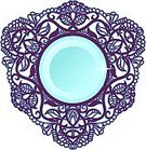 Arabic Style,Brooch,Baroque Style,Picture Frame,Circle,Vector,Geometric Shape,Curve,Shape,Ancient,Design,Romance,Elegance,Classical Style,Isolated-Background Objects,Shiny,Art,Vector Ornaments,Illustrations And Vector Art,Isolated Objects,Design Element,Boundary,Decoration,Pattern