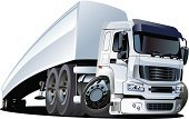 Semi-Truck,Truck,Cartoon,Large,Automobile Industry,Car,Cool,Vector,Transportation,Traffic,Humor,Freight Transportation,Cargo Container,Isolated,Fun,Industry,Mode of Transport,Delivering,Vehicle Trailer,Illustrations And Vector Art,Wheel,Land Vehicle,Shipping,Vector Cartoons,White,Ilustration,Transportation,Funky,Industry