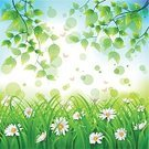 Springtime,Backgrounds,Butterfly - Insect,Daisy,Flower,Vector,Leaf,Design,Tranquil Scene,Summer,Bright,Marguerite,Plant,Nature,Vibrant Color,Defocused,Ilustration,Abstract,Grass,Shiny,Illustrations And Vector Art,Group of Objects,Square,Vector Backgrounds,Chammomile,Environment,Nature,Freshness,Copy Space,Spring,Flowers,Color Image,No People