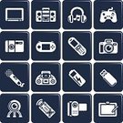 Symbol,Telephone,Leisure Games,Video,Computer Icon,Desk Toy,Control,Icon Set,Camera - Photographic Equipment,Vector,The Media,Video Game,Sign,Mobile Phone,Boom Box,Computer Graphic,Electronics Industry,Playing,Remote Control,Headphones,Multimedia,Electricity,Push Button,Stereo,dv,Battery,Music,Internet,Television Set,USB Cable,Video Conference Camera,Storage Compartment,Modern,Ilustration,Mobility,Keypad,USB Flash Drive,Series,Microphone,Part Of,Objects/Equipment,Illustrations And Vector Art,www,SLR Camera,website icons