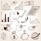 Pie Chart,Savings,Sketch,Doodle,Business,Finance,Marketing,Symbol,Chart,Icon Set,Stock Market,Computer Icon,Line Art,Stock Exchange,Currency,Analyzing,Graph,Insurance,Scrutiny,Bank Account,Dollar,Cycle,Pig,Ilustration,Calculator,Dollar Sign,Banking,Globe - Man Made Object,Currency Symbol,Clipping Path,Coin,Arrow Symbol,Wealth,Bar Graph,Sign,Sphere,Bag,Monochrome,Clip Art,Vector,Money Bank
