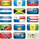 Flag,Caribbean,Caribbean Culture,Symbol,Haiti,Montserrat,Central America,Puerto Rico,West Indies,National Flag,Jamaica,nations,Rectangle,countries,Insignia,Icon Set,Nicaragua,Glass - Material,Travel Location,U S Virgin Islands,St Vincent And The Grenadines [/i],St. Lucia,Honduras,Push Button,Turks & Caicos Islands,Business,[i]1,Guatemala,Trinidad & Tobago,Shiny,Label,Famous Place,History,Grenada,St Kitts & Nevis,Confederation Of North- Central American And Caribbean Association Football,Business Travel,Panama,Concacaf,Interface Icons,Vacation Destinatation