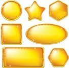 Gold Colored,Gold,Button,Interface Icons,Square,Square Shape,Ellipse,Shiny,Internet,Set,Circle,Star Shape,Symbol,Variation,Abstract,Vector,Bright,Jewelry,Yellow,Design,Hexagon,Glamour,Rectangle,Transparent,Arts Backgrounds,Shape,Color Image,Colors,Backgrounds,Holidays And Celebrations,Style,Design Element,Geometric Shape,Creativity,Beautiful,Isolated,Group of Objects,Arts Symbols,Holiday Backgrounds,Modern,Arts And Entertainment,Collection,Individuality,Eps10,Vibrant Color,Decoration