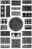 Celtic Style,Geometric Shape,Engraved Image,Striped,Pattern,Decoration,Design,Ombre,Repetition,Styles,Art,Decor,Wallpaper Sample,Ilustration,Victorian Style,Crisscross,Pleated,Checked,Art And Craft,Wallpaper,19th Century Style,Image Created 19th Century,Set,Shape,Old,Swirl,Wallpaper Pattern,Halftone Pattern,Mirrored Pattern,Woodcut,Embellishment,Design Element,Antique,Waffled,Arts Symbols,Old-fashioned,Retro Revival,Collection,Isolated On White,Ornate,Arts And Entertainment,Print,Illustrations And Vector Art,Isolated,Arts Backgrounds
